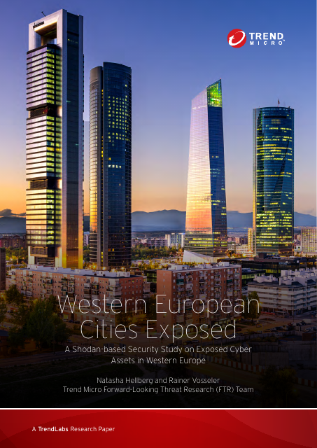 image from Western European Cities Exposed: A Shodan-based Security Study On Exposed Cyber Assets In Western Cities