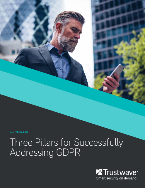 image from Three Pillars For Successfully Addressing the GDPR