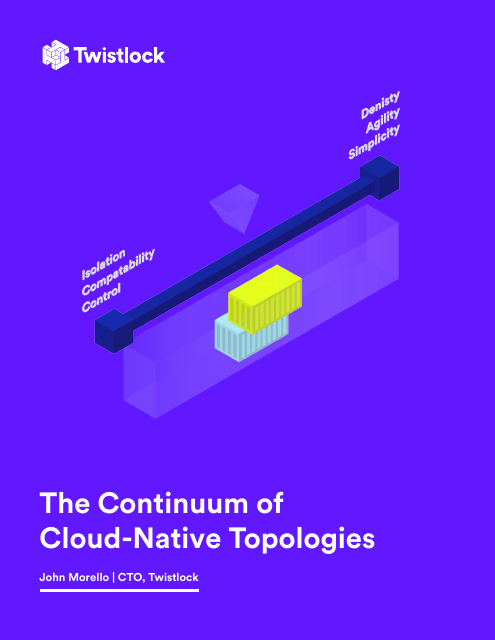 image from The Continuum Of Cloud Native Topologies