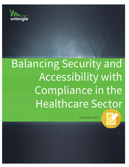 image from Balancing Security and Accessibility with Compliance in the Healthcare Sector