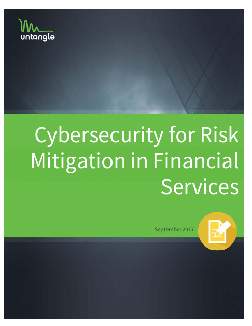 image from Cybersecurity For Risk Mitigation In Financial Services