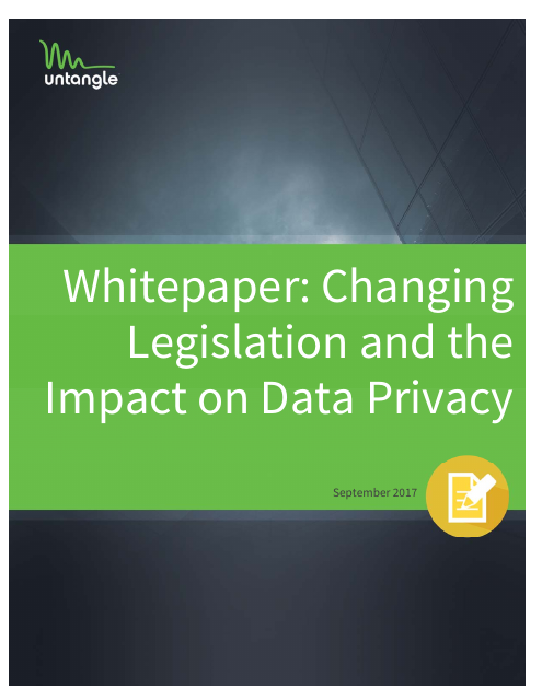 image from Whitepaper: Legislation And The Impact On Data Privacy