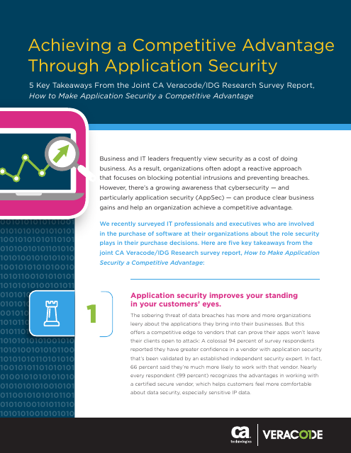 image from Achieving A Competitive Advantage Through Application Security