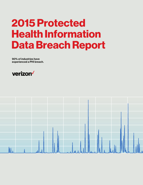 image from Protected Health Information Data Breach Report