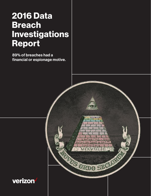 image from 2016 Data Breach Investigations Report
