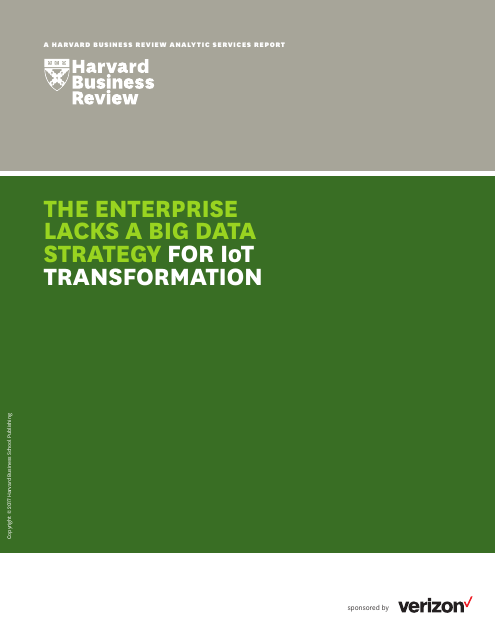 image from The Enterprise Lacks A Big Data Strategy For IoT Transformation