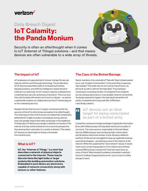 image from Data Breach Digest: IoT Calamity, The Panda Monium