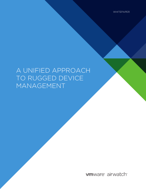 image from A Unified Approach To Rugged Device Management