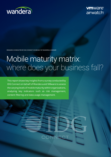 image from Mobile Maturity Matrix: Where Does Your Business Fall?