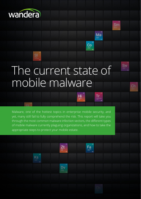 image from The Current State Of Mobile Malware