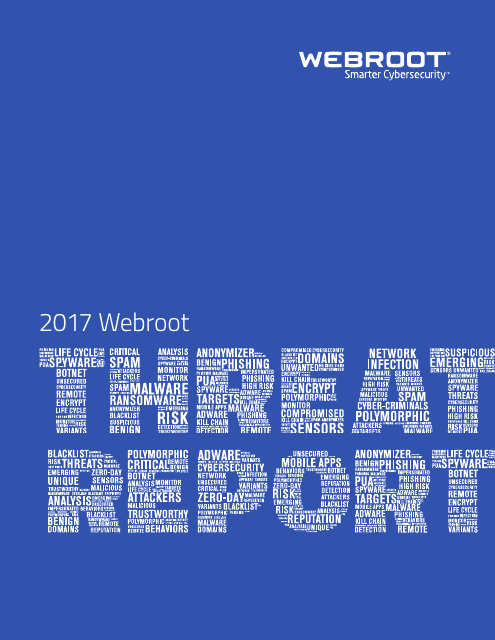 image from Webroot Threat Report 2017