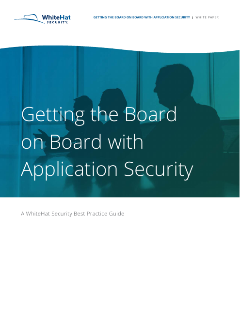 image from Getting The Board On Board With Application Security