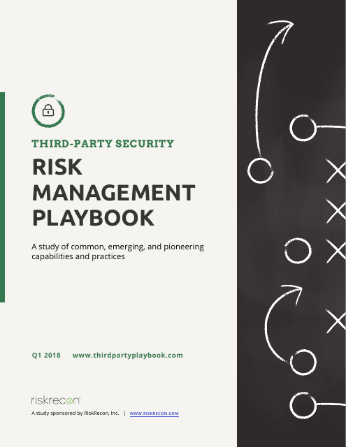 image from Risk Management Playbook