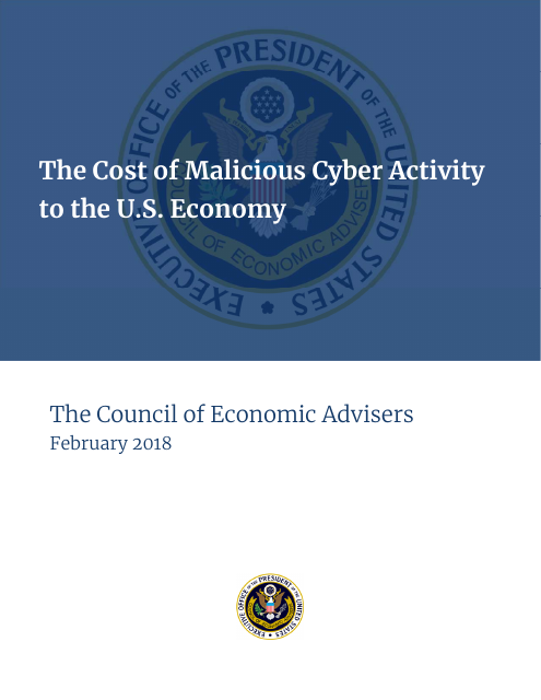 image from The Cost of Malicious Cyber Activity to the U.S. Economy