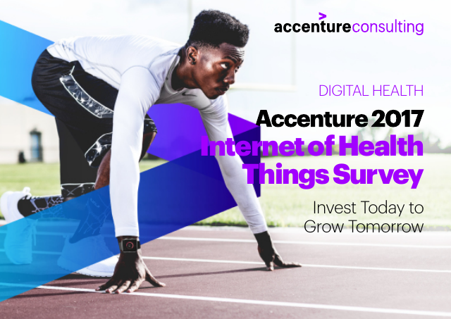 image from Accenture 2017 Internet Of Health Things Survey