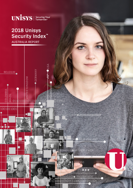 image from 2018 Unisys Security Index Australia Report