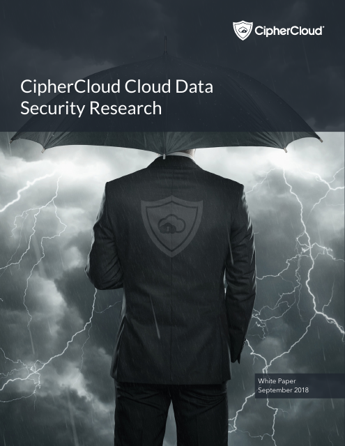 image from CipherCloud Cloud Data Security Research