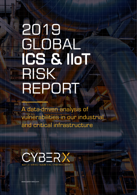 image from 2019 Global ICS & IIoT Risk Report