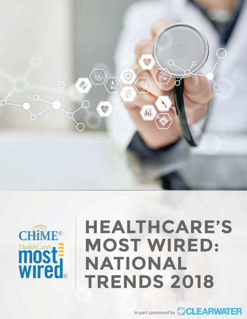 image from Healthcare's Most Wired: National Trends 2018