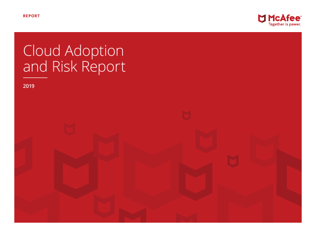 image from Cloud Adoption And Risk Report - 2019