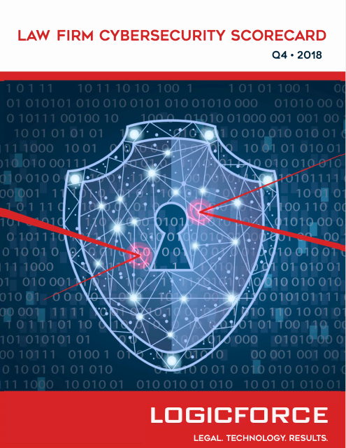 image from Law Firm Cybersecurity Scorecard Q4 2018