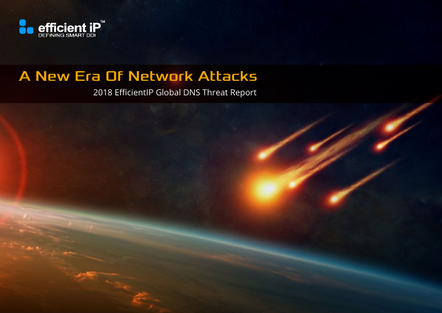 image from A New Era Of Network Attacks: 2018 EfficientIP Global DNS Threat Report