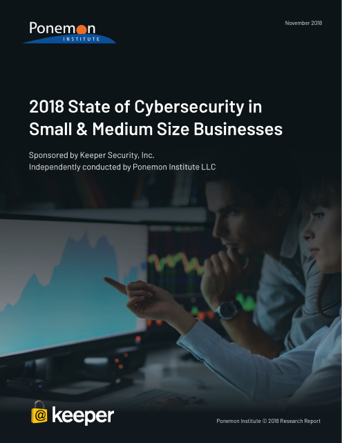 image from 2018 State of Cybersecurity in Small & Medium Size Businesses