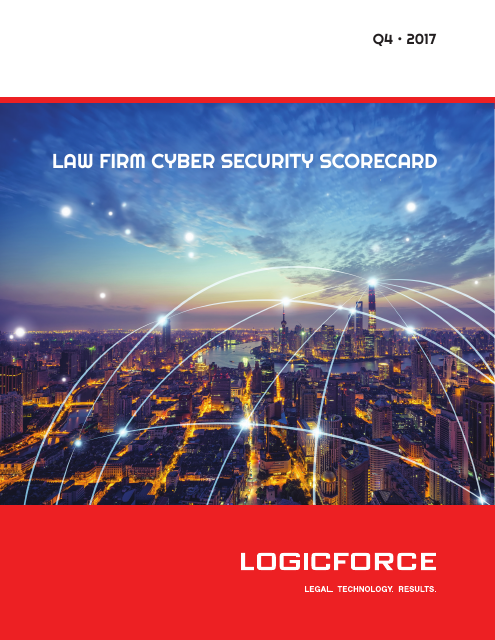 image from Law Firm Cyber Security Scorecard Q4 2017