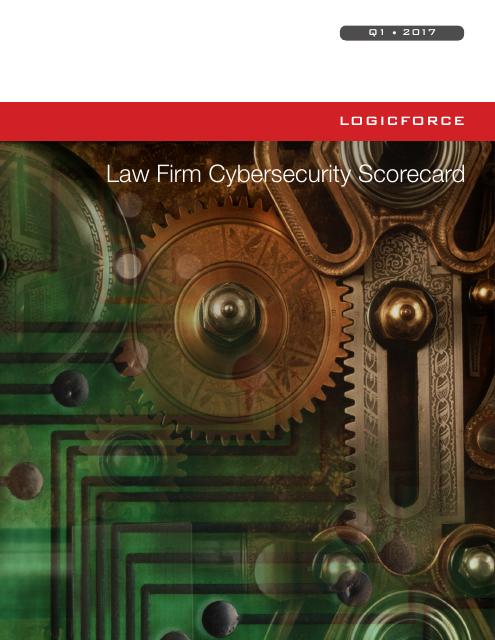 image from Law Firm Cybersecurity Scorecard Q1 2017