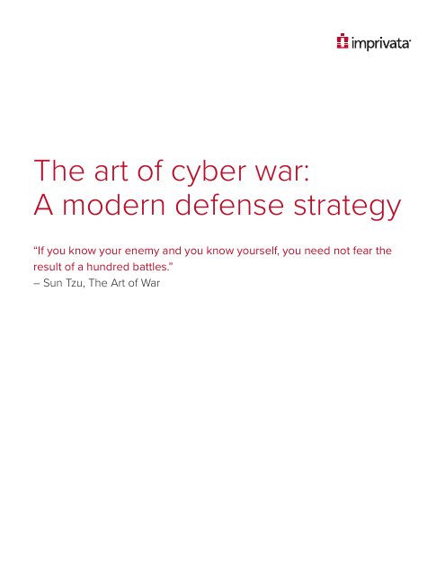 image from The Art Of Cyber War: A Modern Defense Strategy