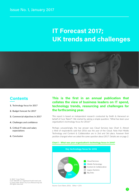 image from IT Forecast 2017; UK Trends and Challenges