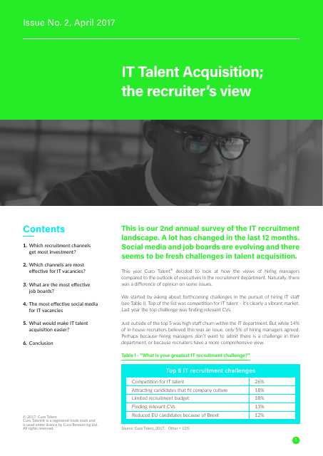 image from IT Talent Acquisition; the recruiter's view