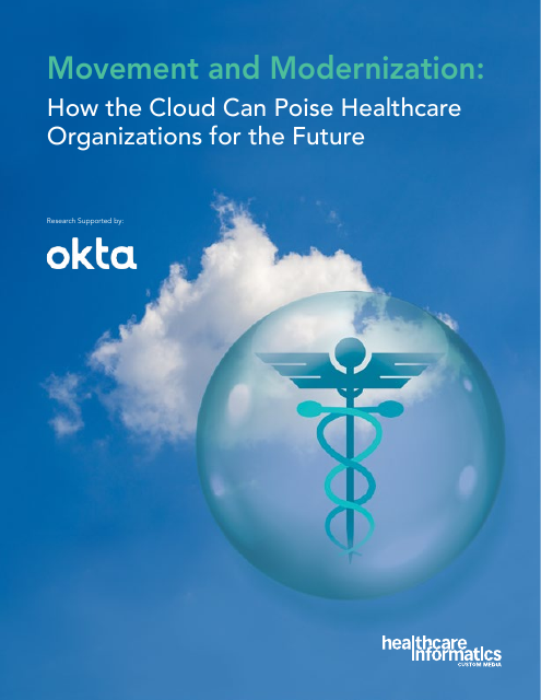 image from Movement and Modernization: How the Cloud Can Poise Healthcare Organizations for the Future