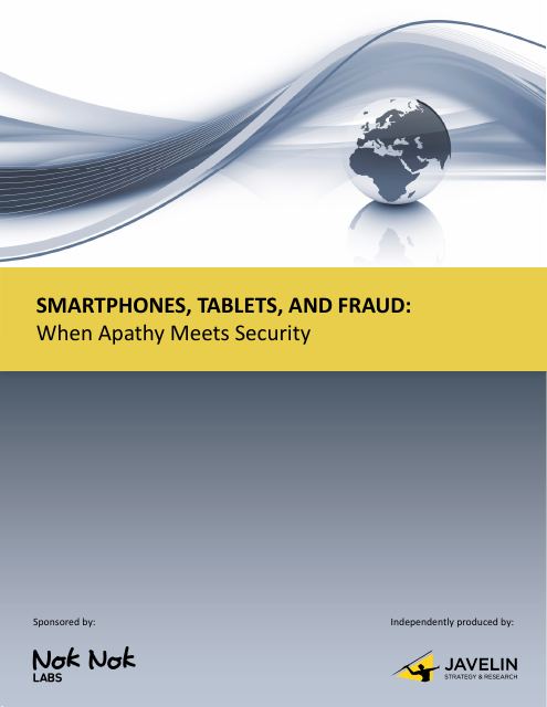 image from Smartphones, Tablets, and Fraud: When Apathy Meets Security