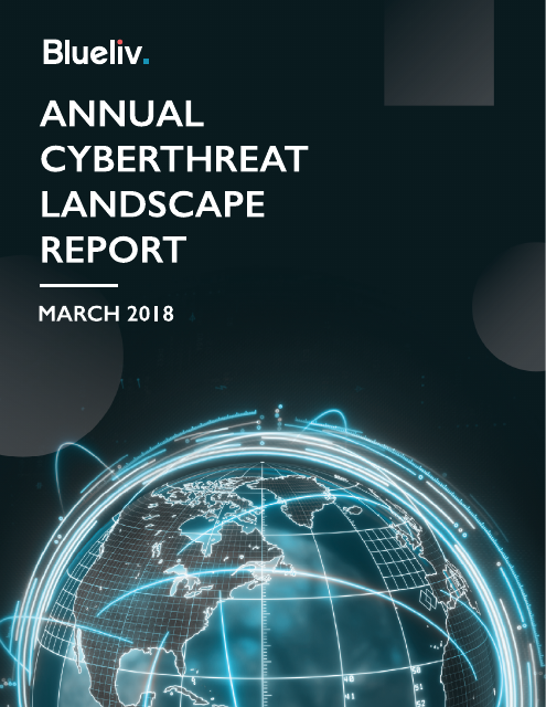 image from Annual Cyberthreat Landscape Report 2018
