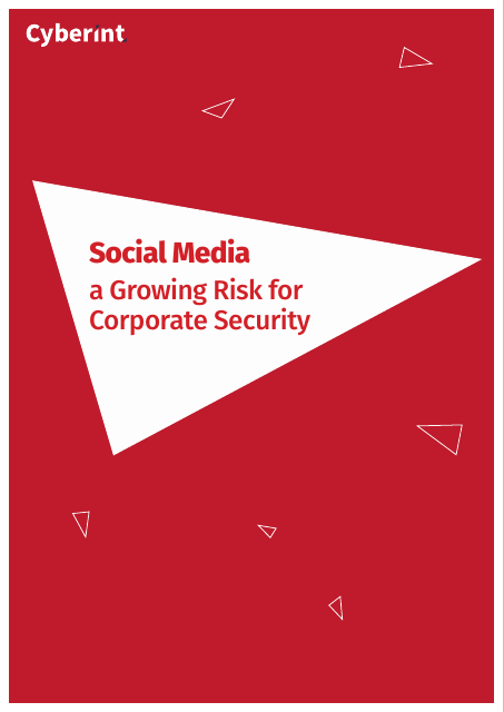 image from Social Media: A Growing Risk For Corporate Security