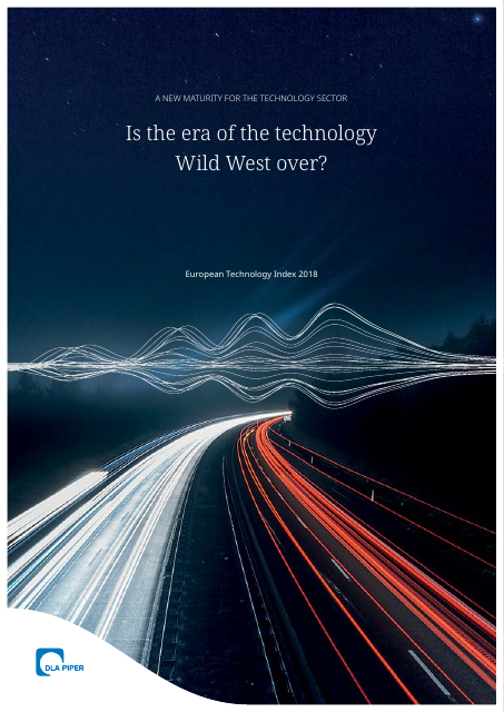 image from European Technology Index 2018: Is The Era Of The Technology Wild West Over?