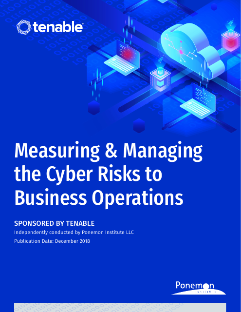 image from Measuring & Managing the Cyber Risks to Business Operations