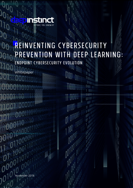 image from Reinventing Cybersecurity Prevention With Deep Learning