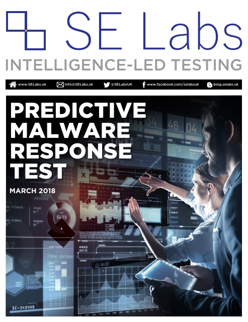 image from Predictive Malware Response Test
