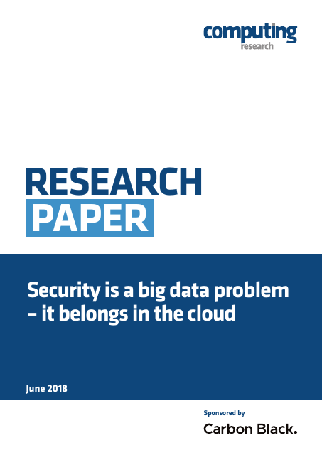 image from Security Is A Big Data Problem - It Belongs In The Cloud