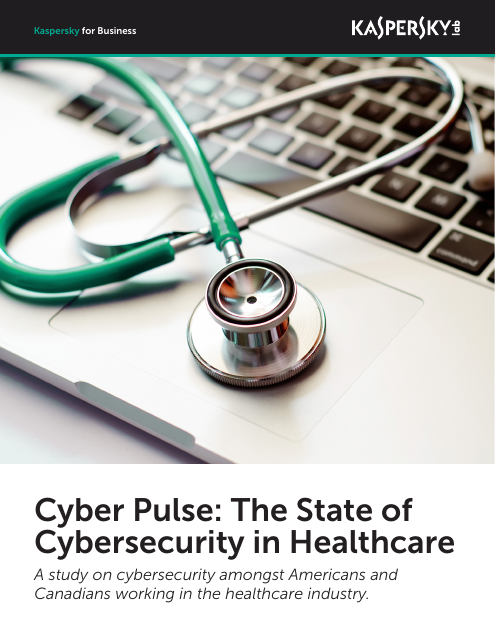image from Cyber Pulse:The State of Cybersecurity in Healthcare