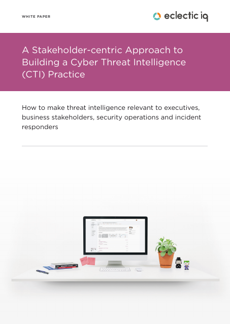 image from A Stakeholder-centric Approach to Building a Cyber Threat Intelligence (CTI) Practice