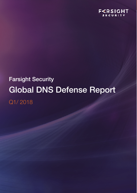 image from Global DNS Defense Report Q1/2018
