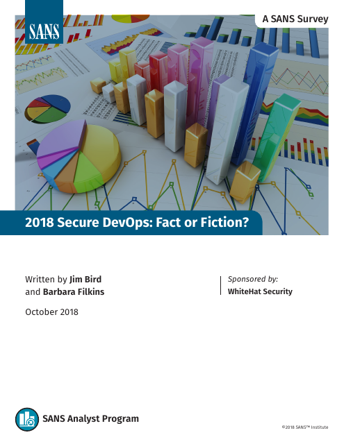 image from 2018 Secure DevOps: Fact Or Fiction?