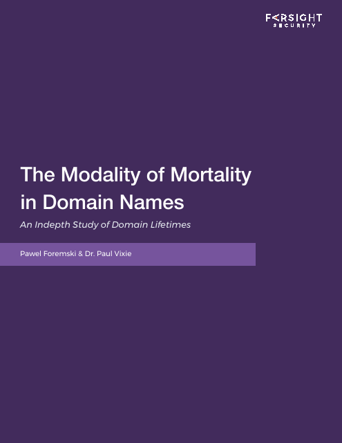 image from The Modality of Mortality in Domain Names