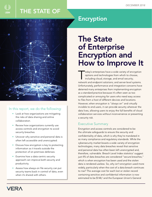 image from The State of Enterprise Encryption and How to Improve It