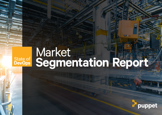 image from State of DevOps:Market Segmentation Report