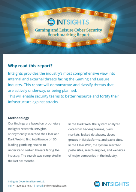 image from Gaming And Leisure Cyber Security Benchmarking Report