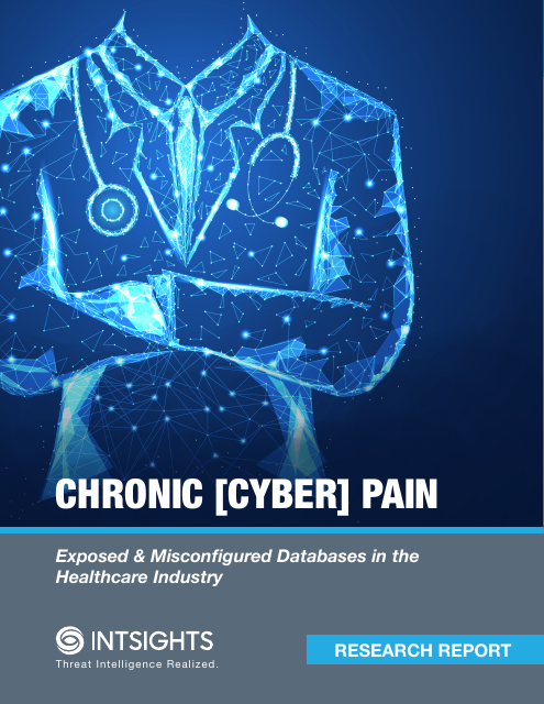 image from Chronic [Cyber] Pain: Exposed & Misconfigured Databases in the Healthcare Industry